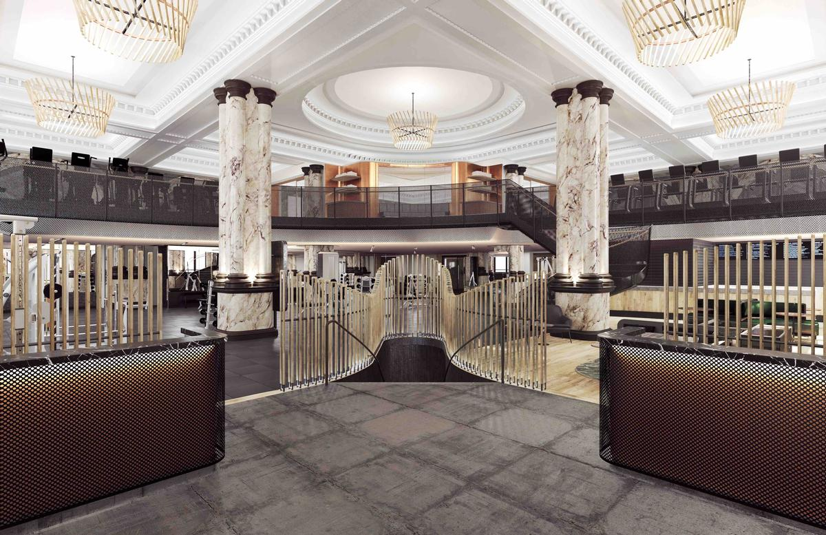 The ground floor, basement and mezzanine levels of 12 St James's Street have been transformed by architects Woods Bagot and interior designer Joyce Wang / Equinox