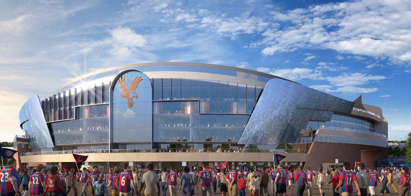 Sports architects KSS are tasked with overhauling a stadium which has been Palace's home since 1924 / Crystal Palace