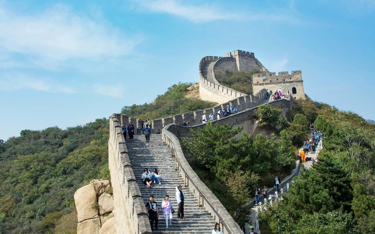 The Great Wall of China is 13,171 miles in length – significantly longer than Hadrian's Wall, which is just 73 miles