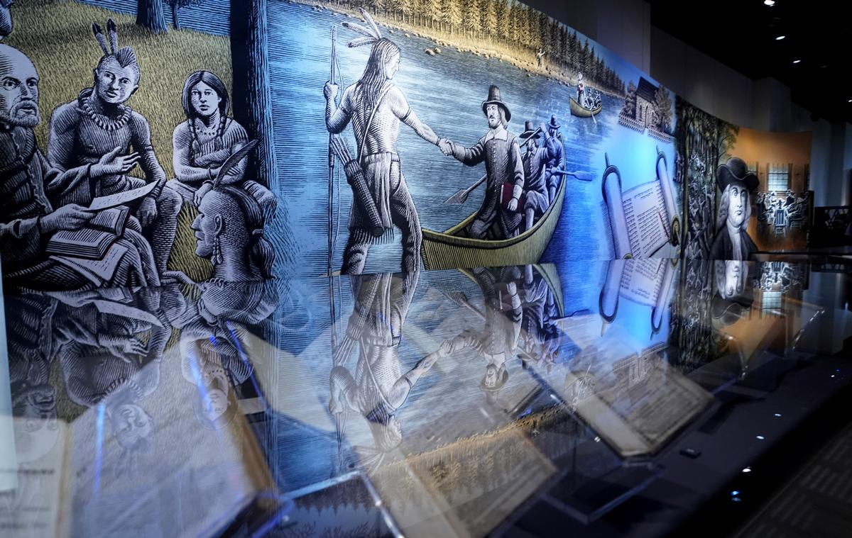 More than 500 biblical texts and artefacts are on display on the museum's History Floor