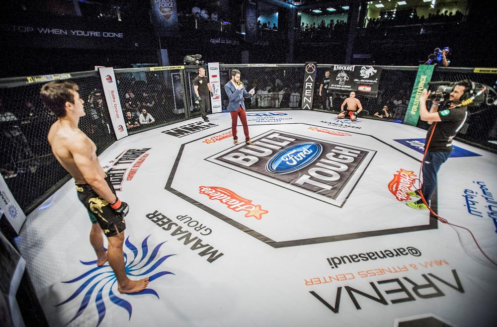 Arena has been hosting MMA events since 2014