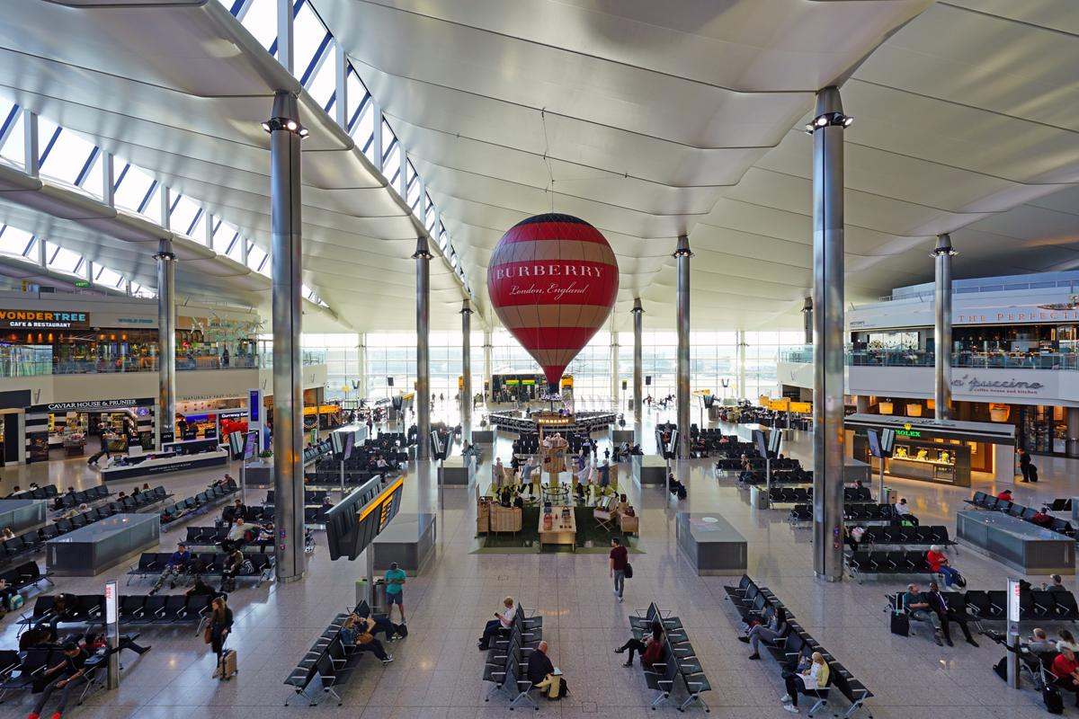 FlyFit is due to open its studio in Heathrow Terminal 2 in early 2018 / Shutterstock