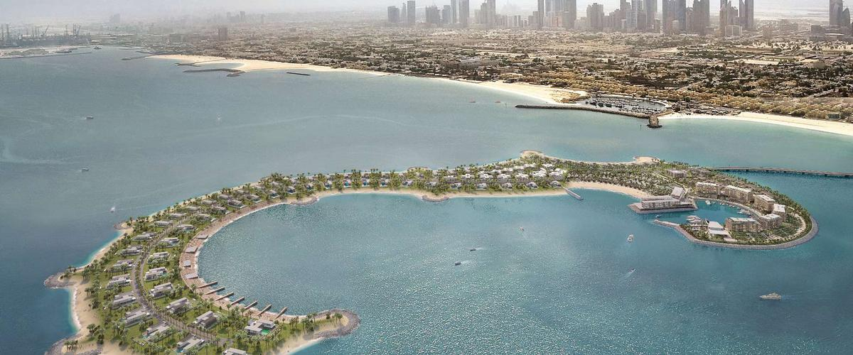 The Bulgari Resort & Residences Dubai is situated on the manmade Jumeirah Bay – an island carved into the shape of a seahorse  / Bulgari