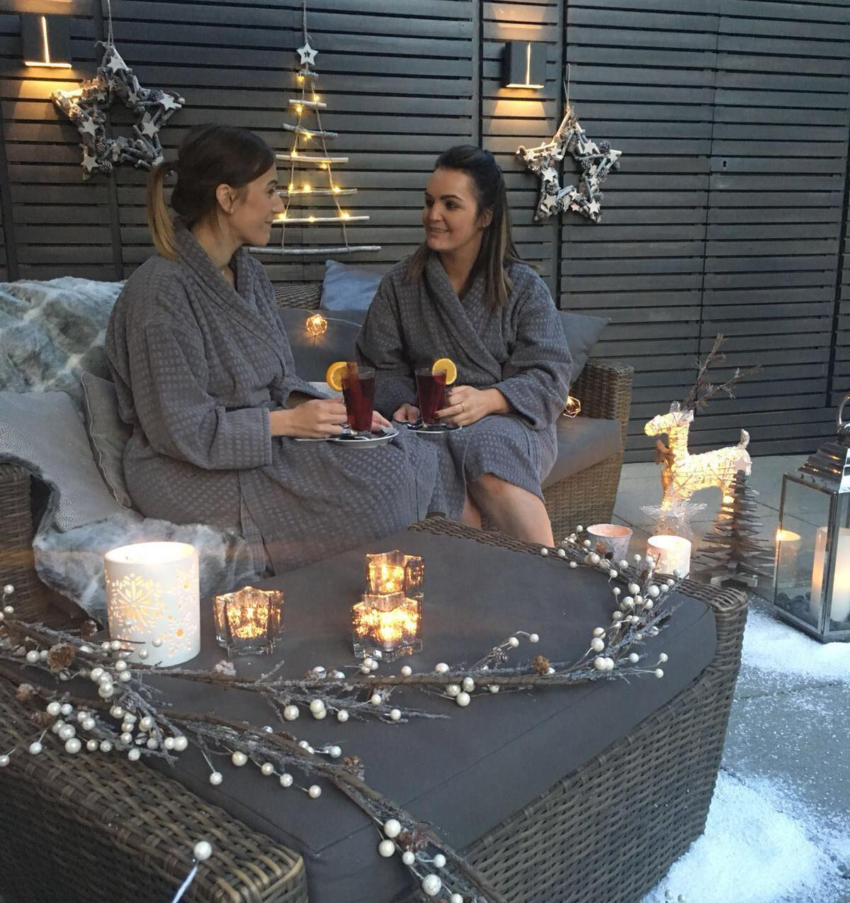 The area has been launched in time for the Christmas period and will stay open until the end of February / Titanic Spa
