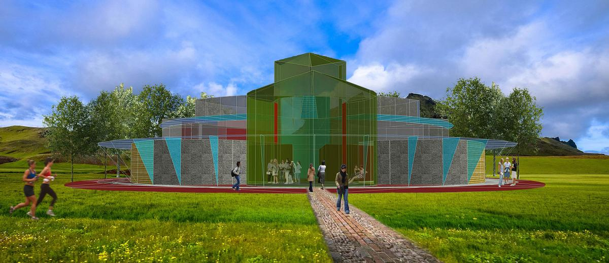 Designed By Local Architect And Masterplanner Duncan Whatmore The Centre Will Be Located On The