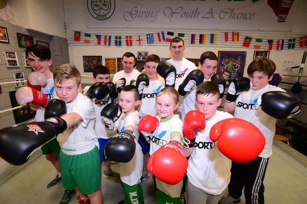 The kids at Gleann Amateur Boxing Club are learning important life skills