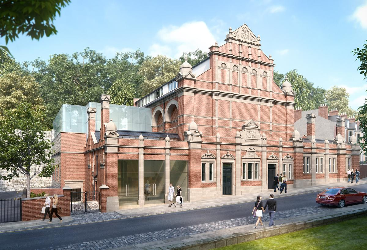 A vision for the future of the baths, which Fusion will repair and redevelop, bringing back public swimming and introducing fitness and wellness facilities / Fusion Lifestyle
