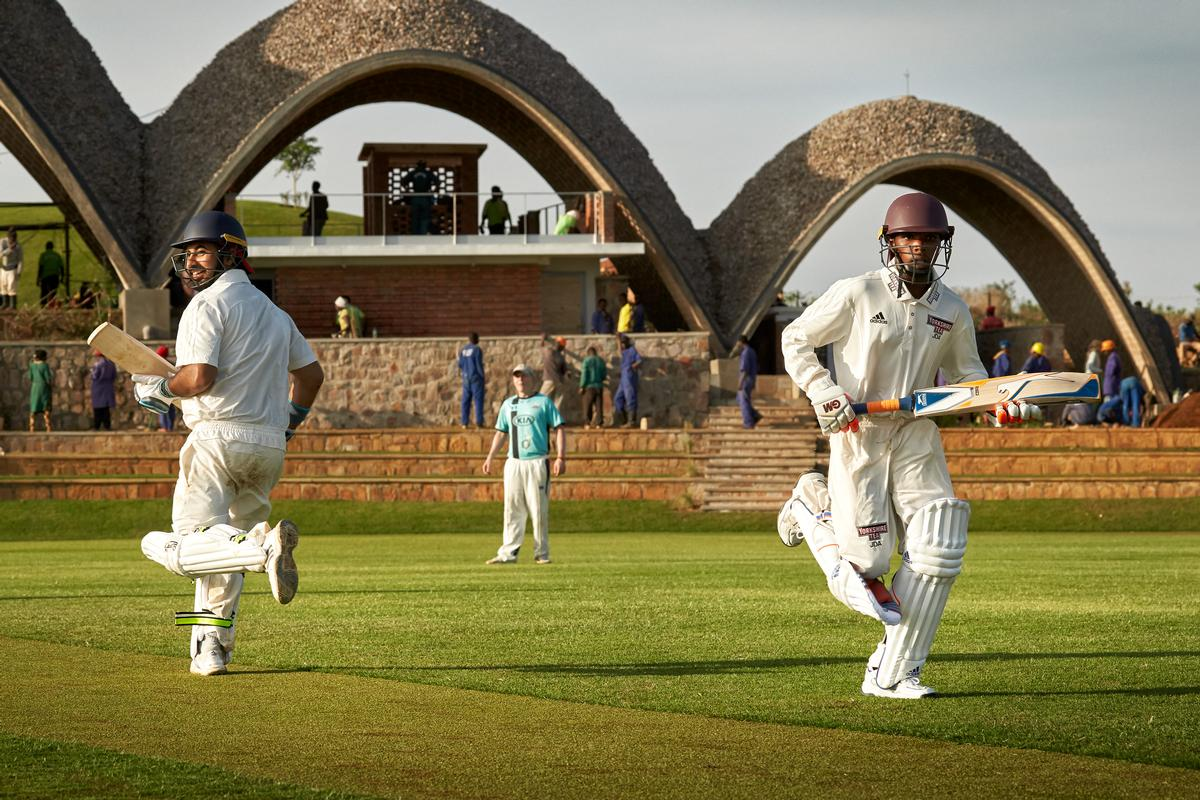 Cricket is Rwanda's fastest growing sport, but until now the country has lacked an international-standard stadium / Jonathan Gregson