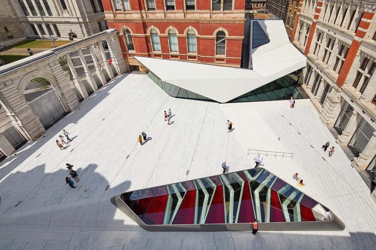 The V&A's Exhibition Road Quarter by AL_A