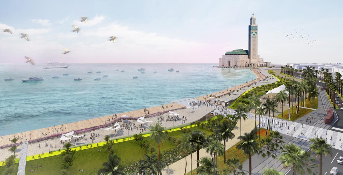 Casablanca promenade