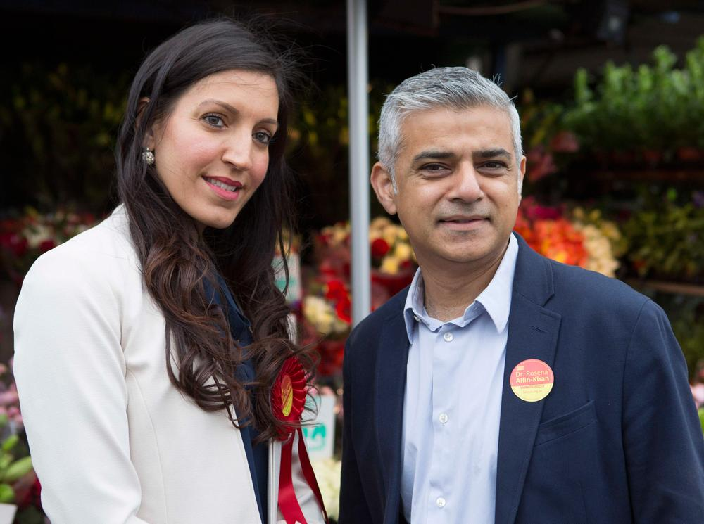 Rosena Allin-Khan was elected MP for Tooting after previous MP Sadiq Khan became the Mayor of London