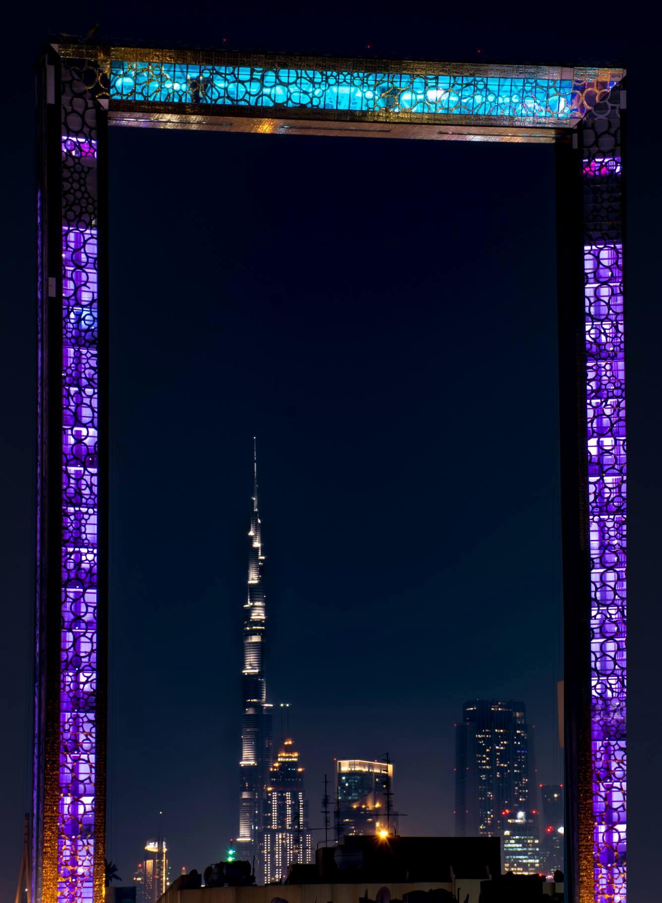 Public Monument Or Postmodern Pastiche Towering Dubai