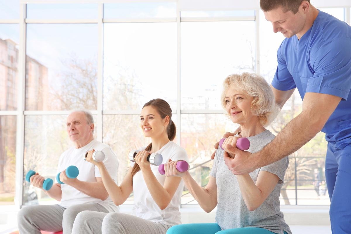 The classes will be run by a physiotherapist or exercise professional / Shutterstock