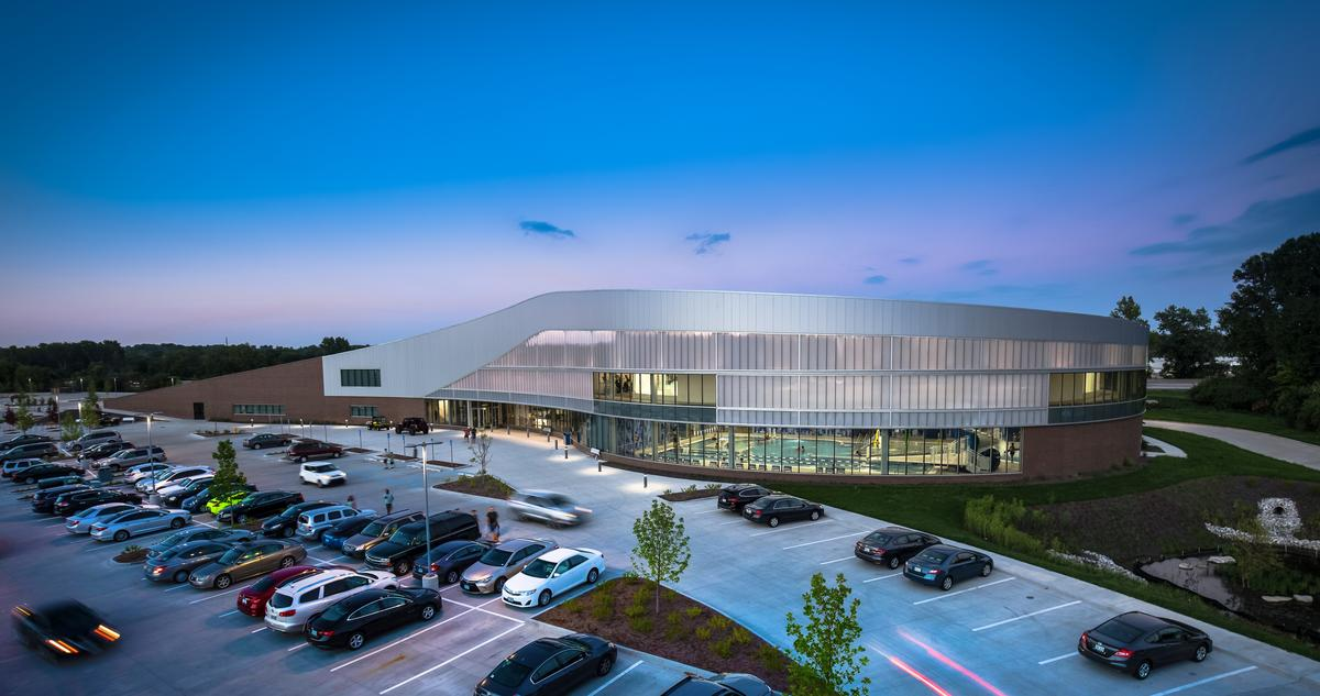 CannonDesign were tasked with creating the new home for the Maryland Heights Community Center to replace an existing facility that was no longer fit-for-purpose / CannonDesign