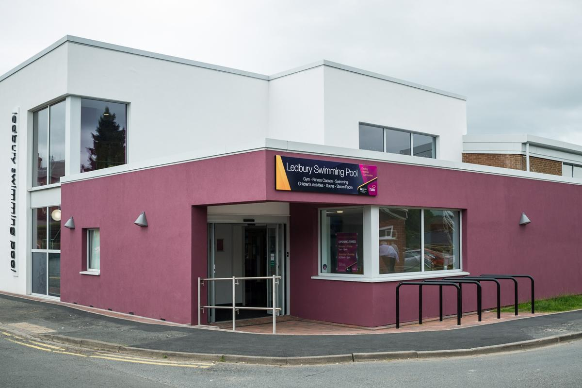 Halo Leisure and Herefordshire Council reopened Ledbury Swimming Pool last year after a £2.4m refurbishment project / Halo Leisure