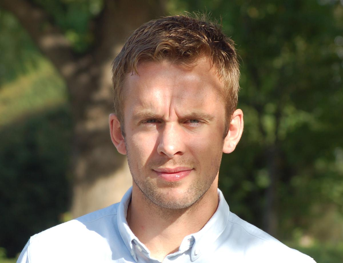 Cracknell served in the Royal Marines for six years and is a fitness enthusiast who has worked as a personal trainer