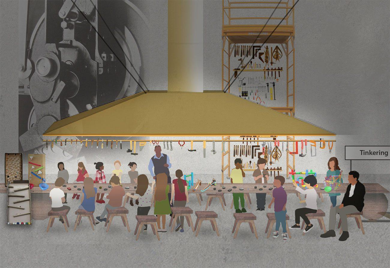 The Science Museum Group will develop a Wonderlab for kids at the museum / Muf Architecture/Art LLP