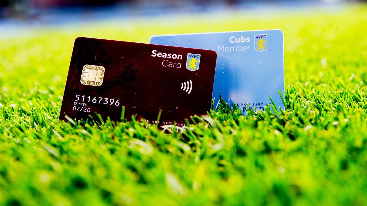 Aston Villa fans will be the first to use membership cards and season tickets as pre-paid cards / Aston Villa FC