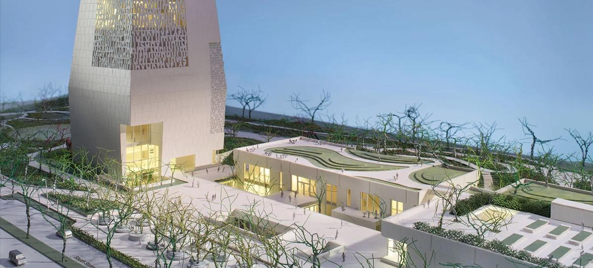 The Presidential Center will act as part of a living, working campus / The Obama Presidential Center