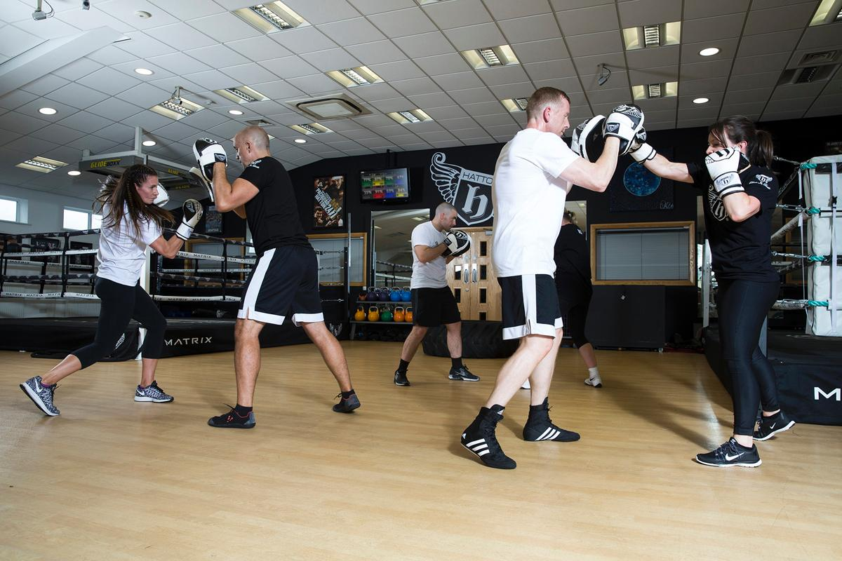 The classes are all developed by Hatton Boxing's training arm Hatton Academy / Hatton Boxing