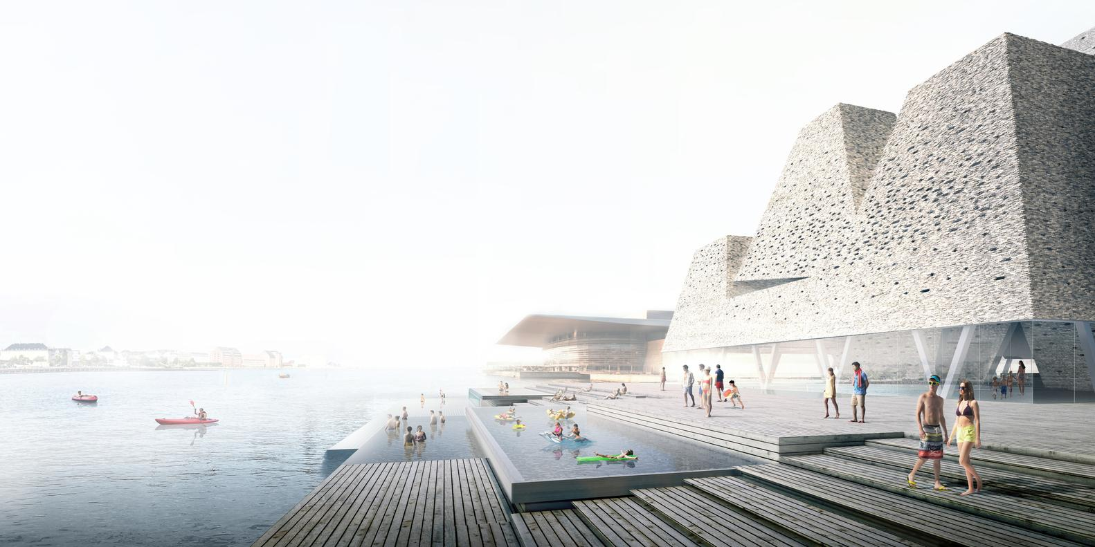 Kengo Kuma wins competition for Danish Water Culture Center as Copenhagen's cultural masterplan takes shape