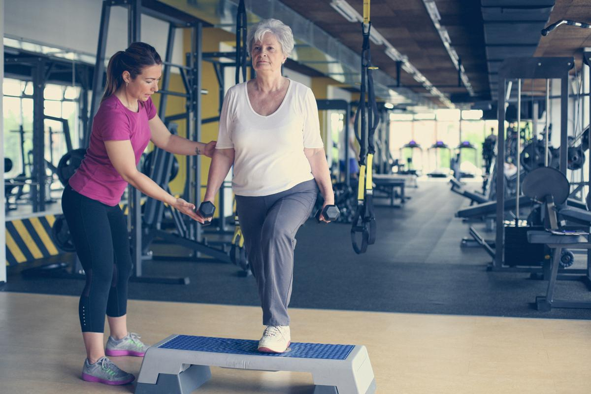 As part of a Women's Health Initiative study, researchers wanted to learn more about how much exercise older adults are able to perform / Shutterstock