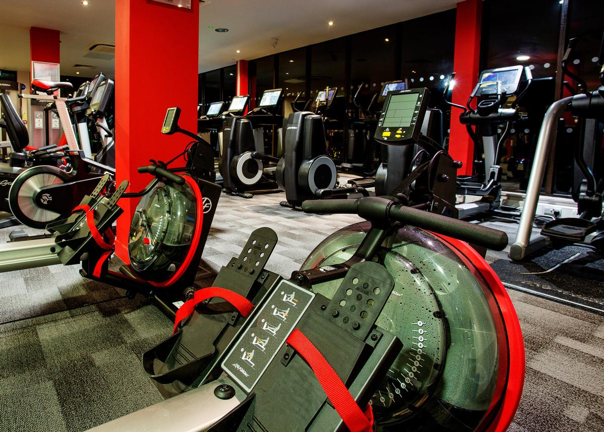 The first Vital Health and Wellbeing Club to be fitted with new Life Fitness kit was the Macdonald Inchrya Hotel & Spa in Falkirk  / Macdonald Hotels