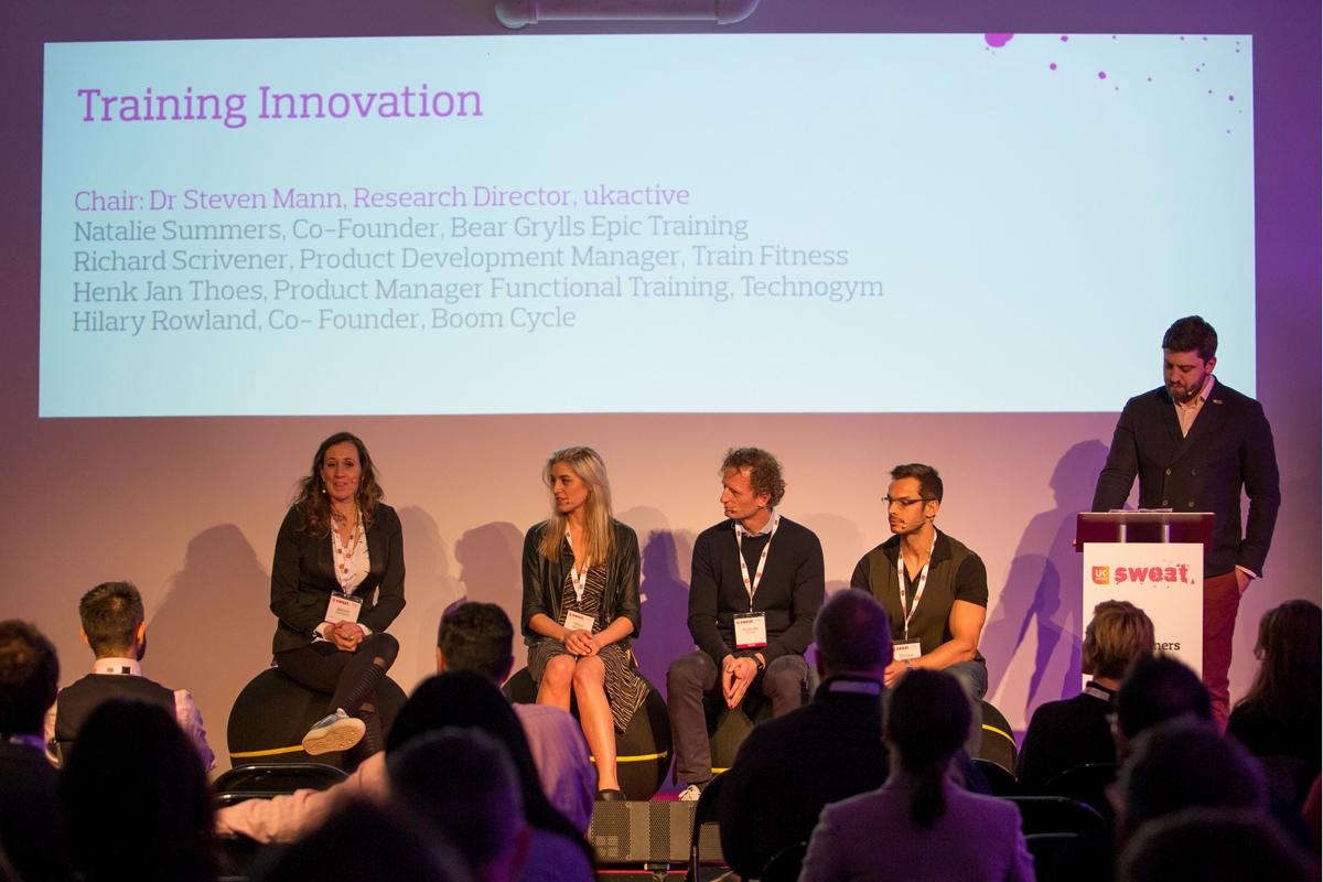 A training innovation session during last year's event / ukactive