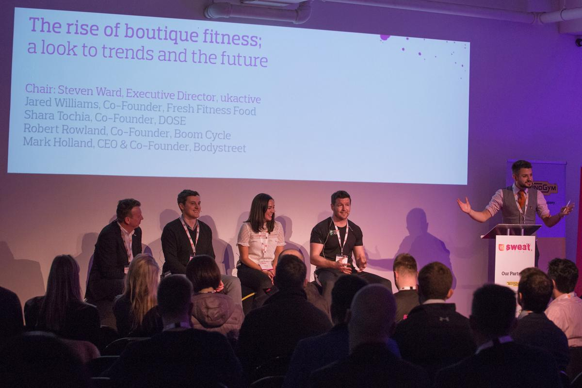 Following the successful launch of Sweat last year, the next phase of growth for the boutique sector will be debated at this year's event / ukactive