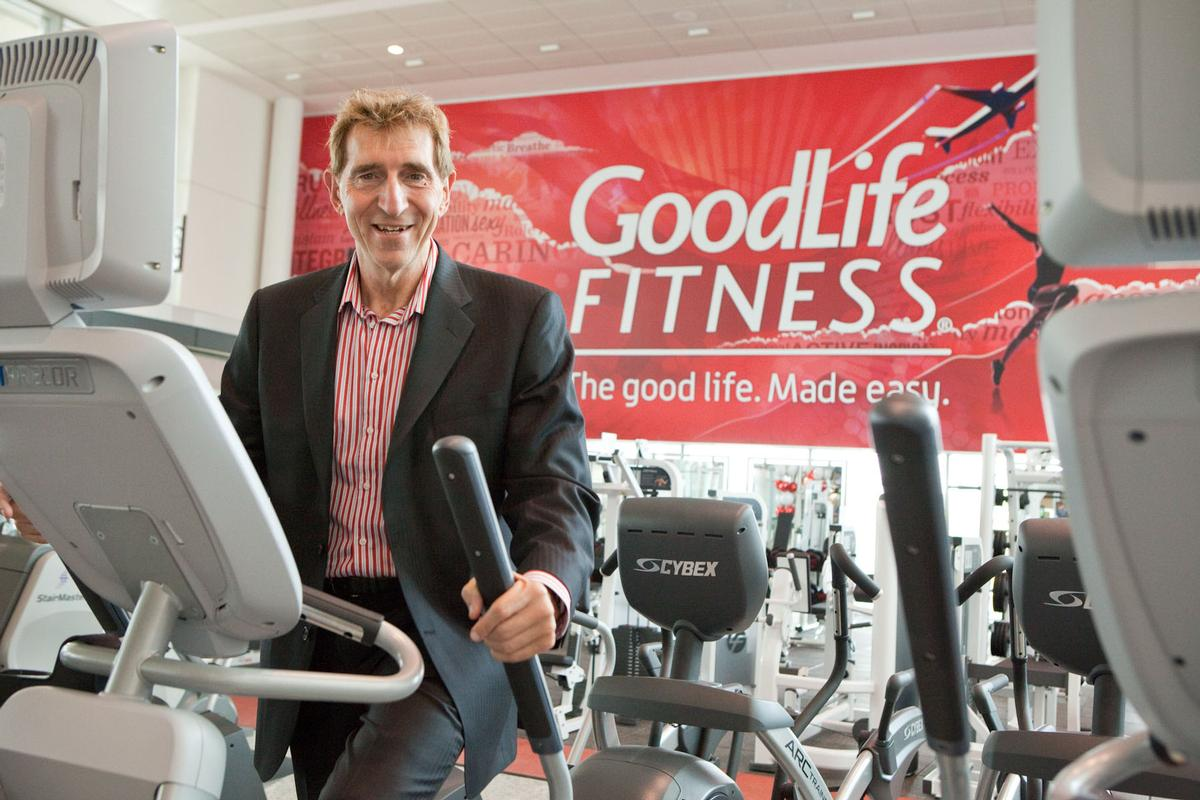 GoodLife Fitness founder and CEO David Patchell-Evans