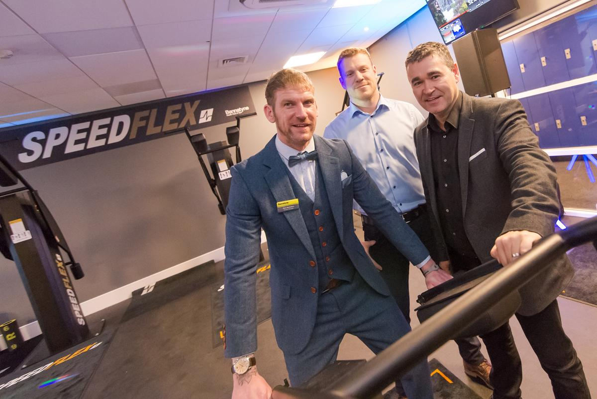 L-R: Gary McRobert, general manager, Bannatyne Dunfermline, Anthony Elliott, operations director at Bannatyne Group, and Justin Musgrove, chief executive of Bannatyne Group / Bannatyne Group