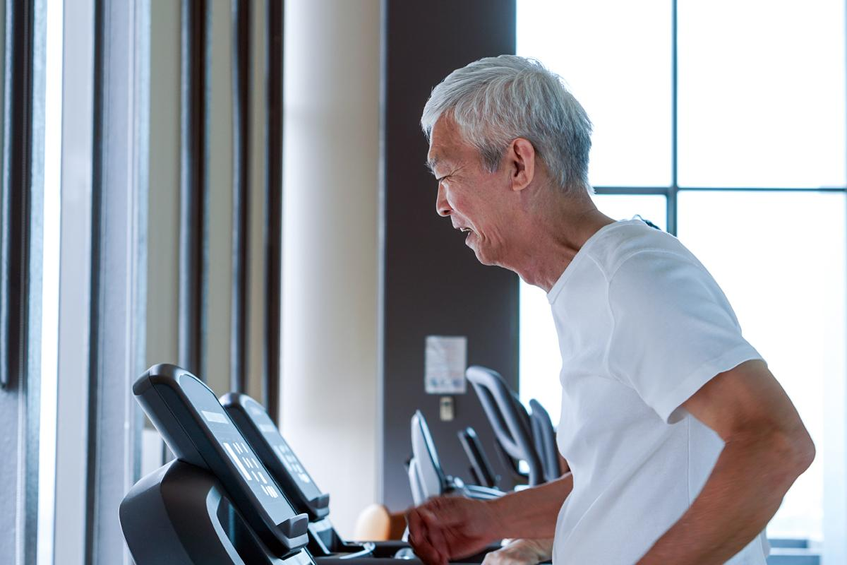 Poor health behaviours, including a lack of exercise, will lead to older people being diagnosed with four or more diseases  / Shutterstock