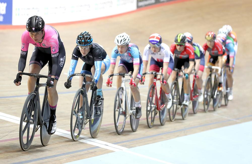 Storey competing for Podium Ambition at the Revolution Series Champions League in 2016 / Martin Rickett / press associations