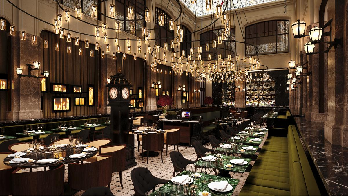 The Entourage Group, a hospitality management company, runs The Duchess restaurant / Office WINHOV and BK Architects