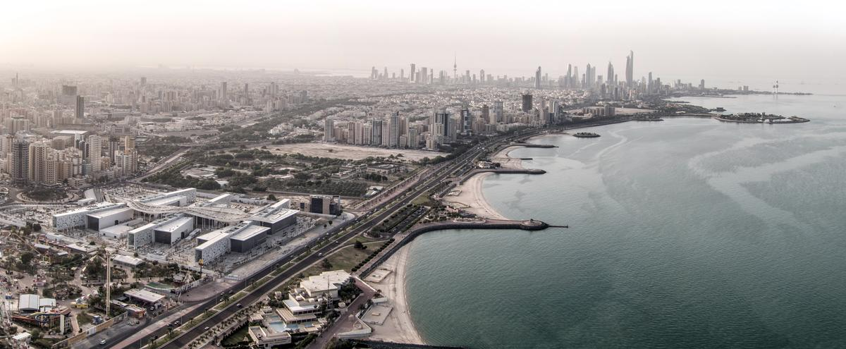 Situated on a13 hectare site in the Al-Sha'ab district of Kuwait City, the complex has been developed in just five years and is part of the country's strategy to create a new cultural quarter / SSH