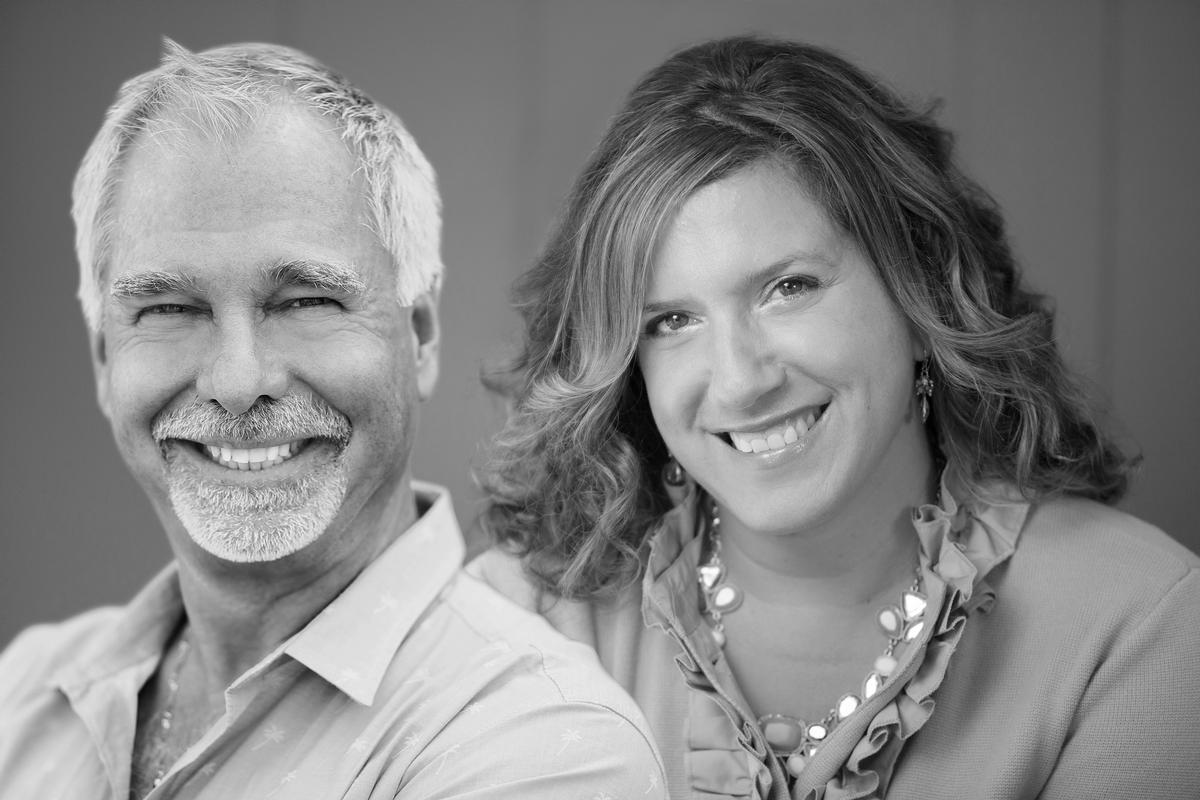 Tony de Leede, left, and Mia Kyricos will chair the annual Global Wellness Summit