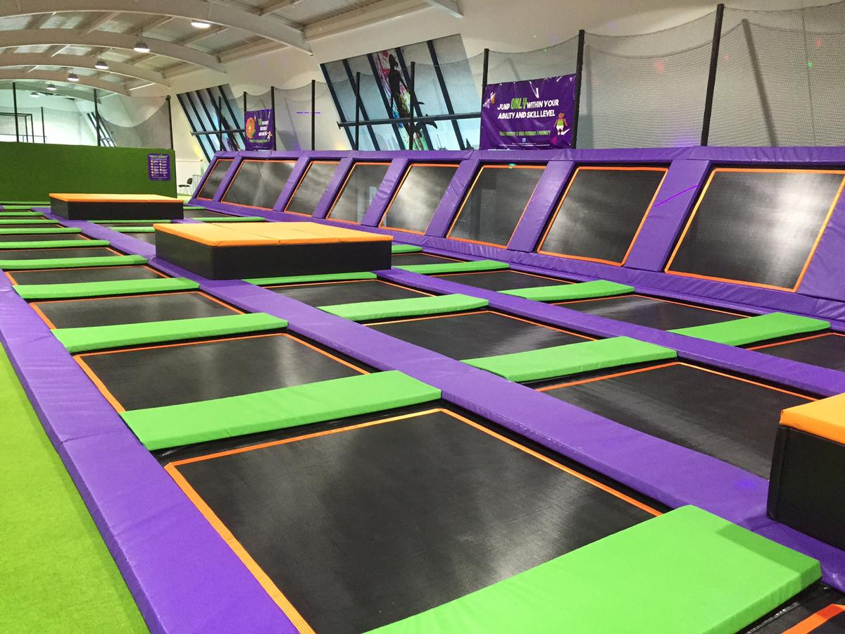 Trampolining Is A Growing Leisure Activity In The Uk With
