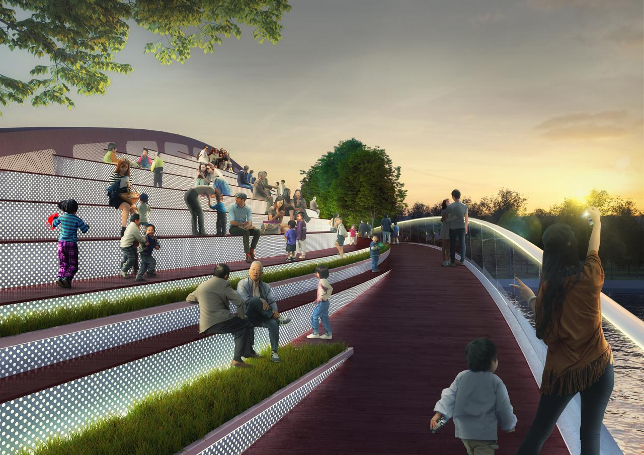 Zhujiajiao Municipality is overseeing the project and completion is anticipated for 2019 / MVRDV