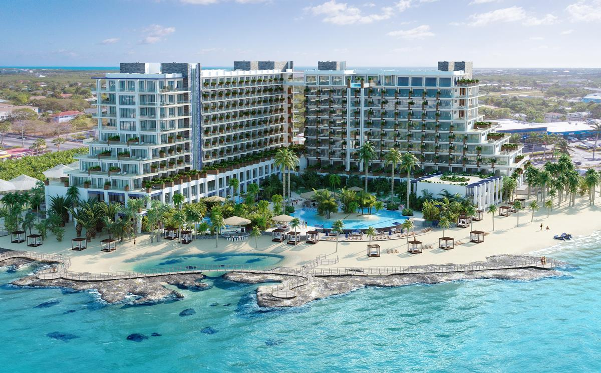 Facilities at the Grand Hyatt Grand Cayman will include a 9,000sq ft destination spa / Hyatt Hotels and Resorts
