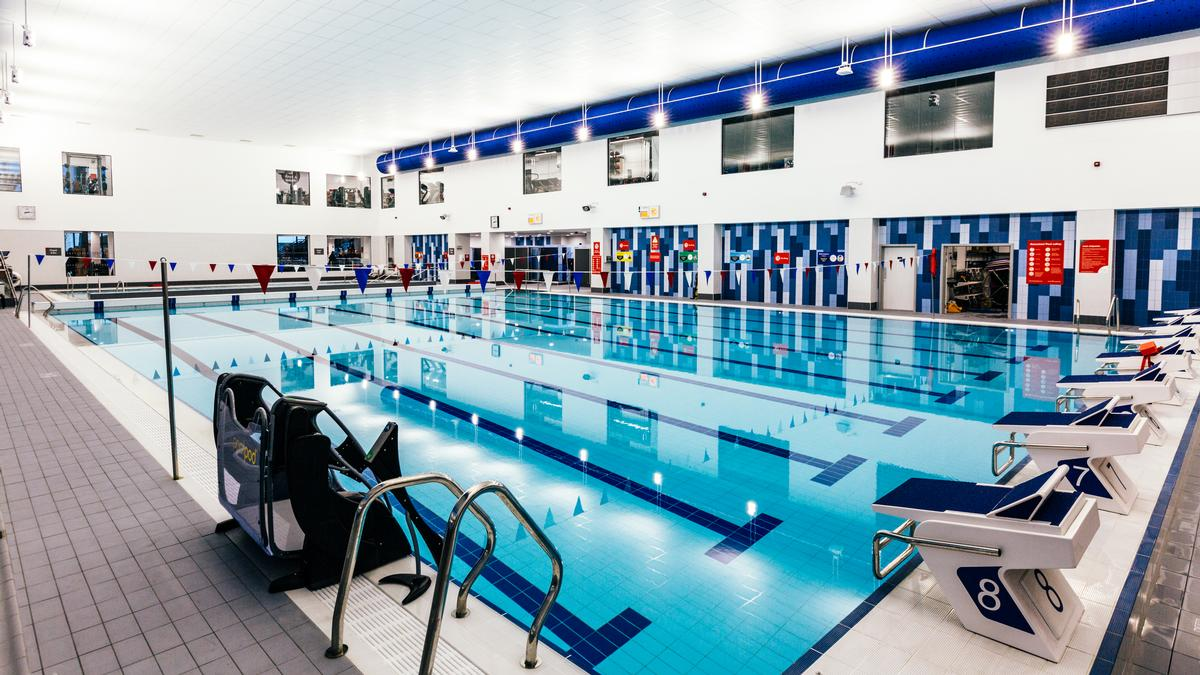 The new pool at Sapphire Ice and Leisure, in Romford