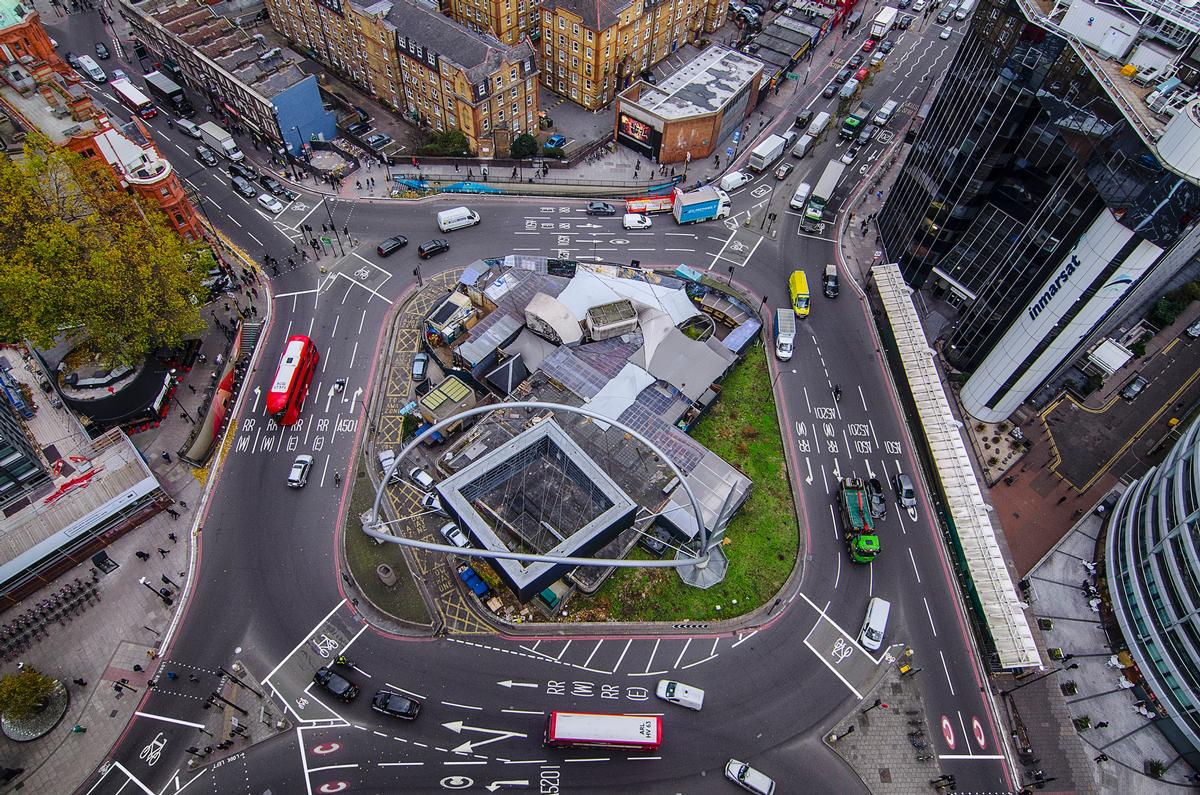 The outdated and intimidating roundabout is set to be demolished 'to create a safer, more pleasant layout for people, which will be an improvement to the urban environment'