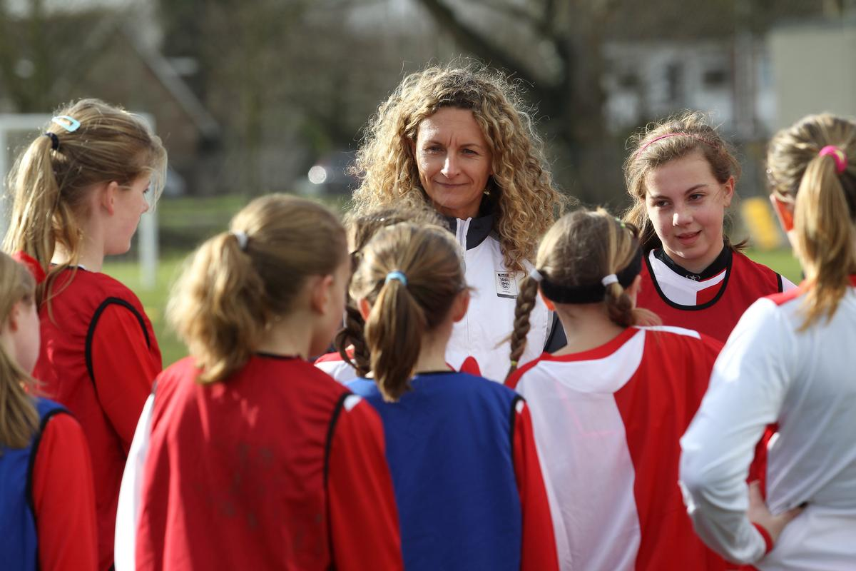 The four-year programme is part of efforst to double female football participation in England by 2020 / London FA