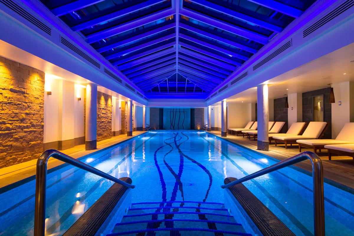 The 25,000sq ft spa is the only Kohler Waters Spa outside the US, and focuses on hydrotherapy and organic treatments / Kohler Waters Spa