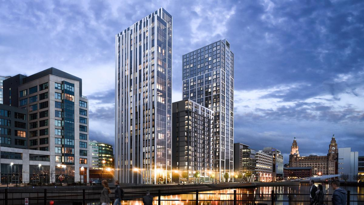 Designed by Hodder and Partners and Brock Carmichael Architects, two proposed buildings towered over neighbouring sites, which breached one of the Unesco conditions for the World Heritage site