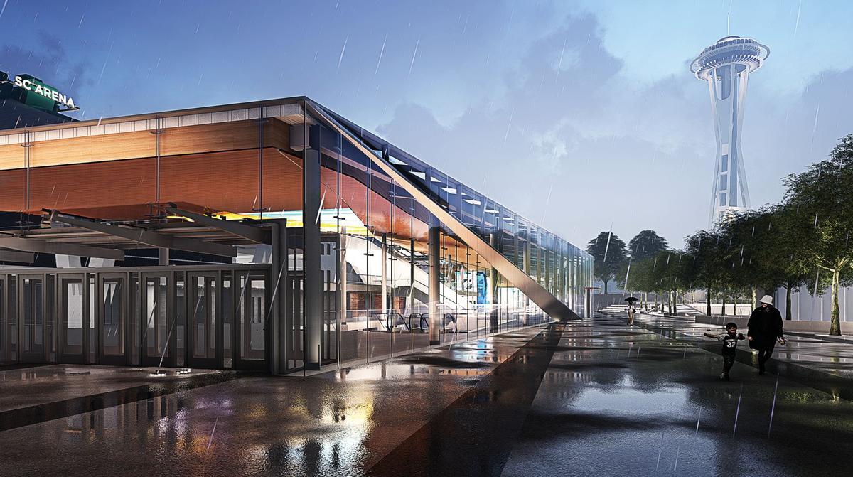 The design team have proposed several transparent elements, including a 360ft-long transparent atrium / OVG