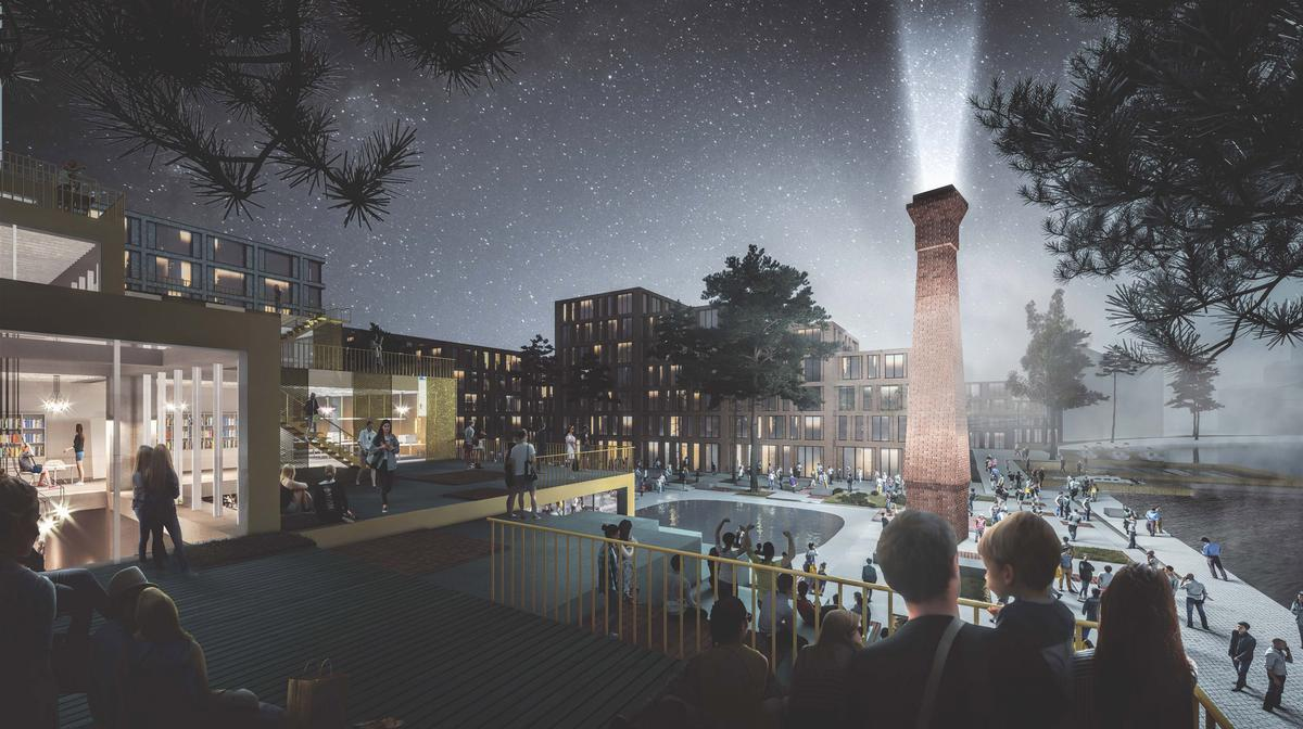 Waterside will create a 'year-round vibrant community' complete with cultural venues, leisure and retail facilities / ELEMENT/welcometoelement.com