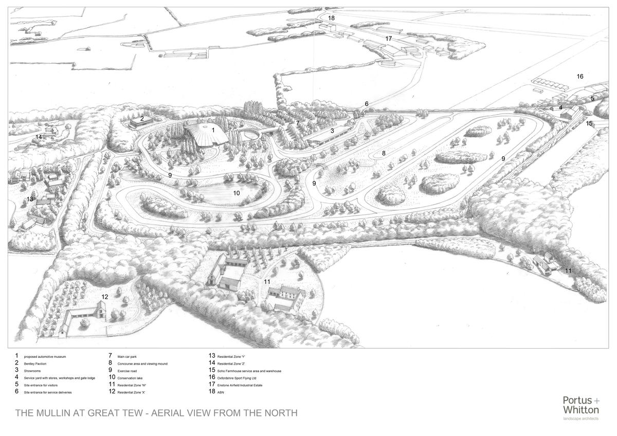 The scheme, according to the proposal, will substantially enhance both its landscape setting and local biodiversity