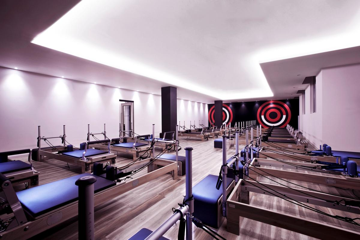 The Kensington club now features one of London's largest Dynamic Reformer studios with 21 beds / Virgin Active