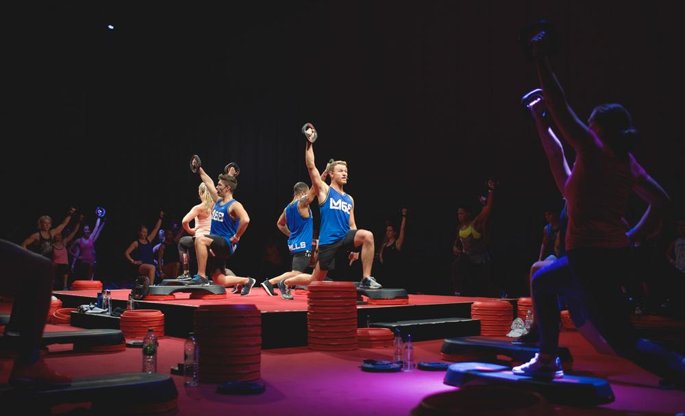 Group exercise classes create a 'club within a club'