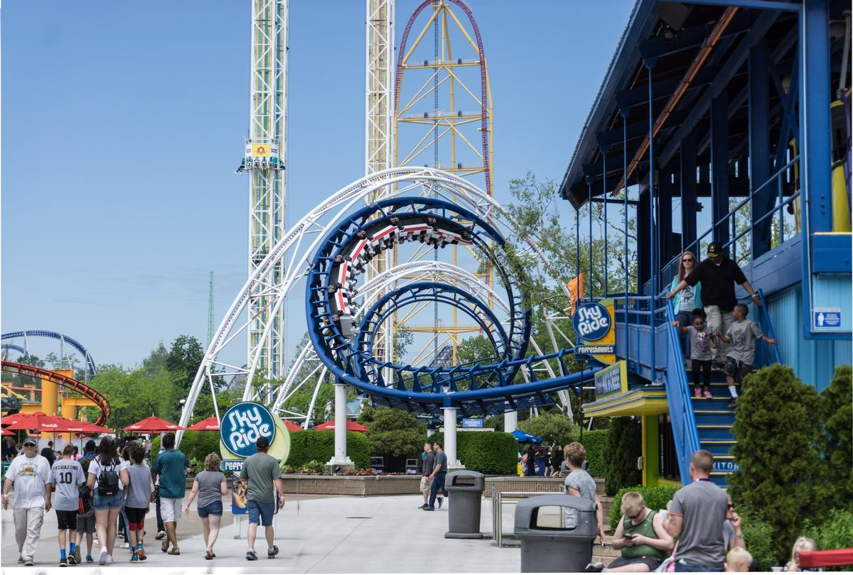 The management degree includes hands-on training at Cedar Fair parks